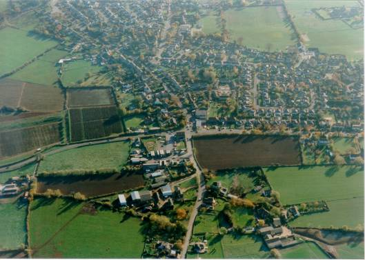 Frampton Cotterell from the air