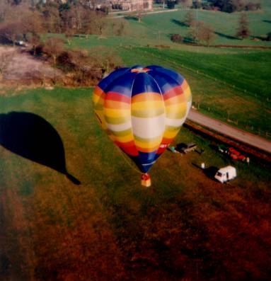 balloon G-BPBU launch
