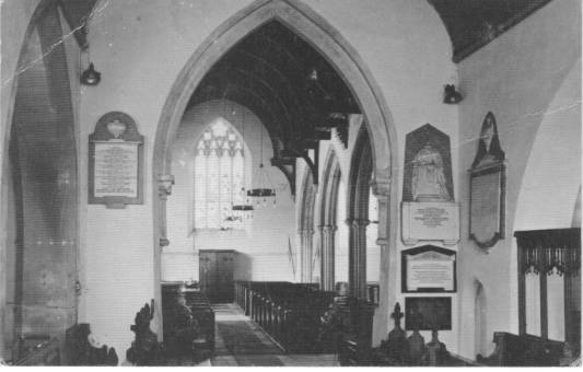 photograph from inside the chancel
