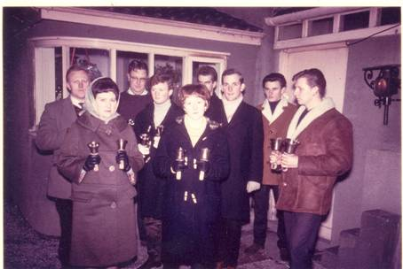 the big handbell team - early days