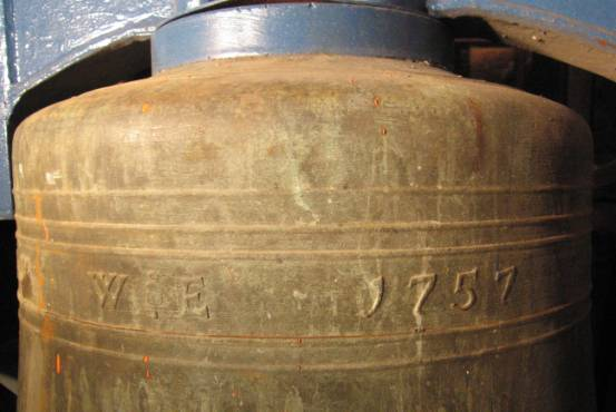 inscription on bell